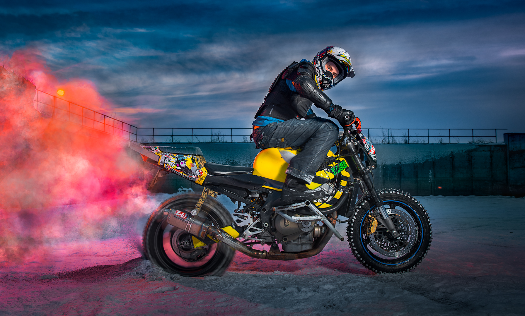 Stunt Biker Adventix