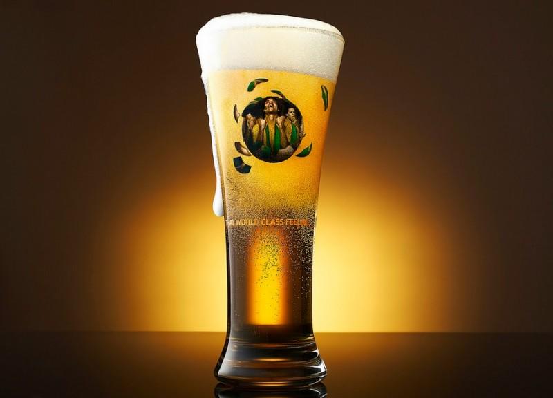 Creative Beer shot